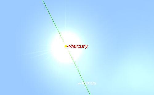 Merkurov tranzit - slika